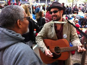 Occuppy 2012 busking